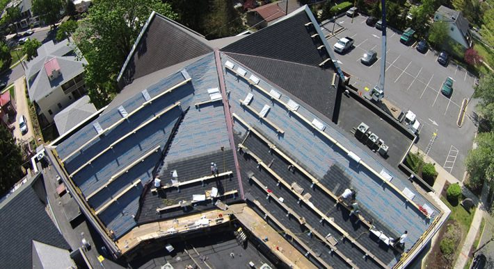 Shingle Roof At Atonement Church Gsm Roofing
