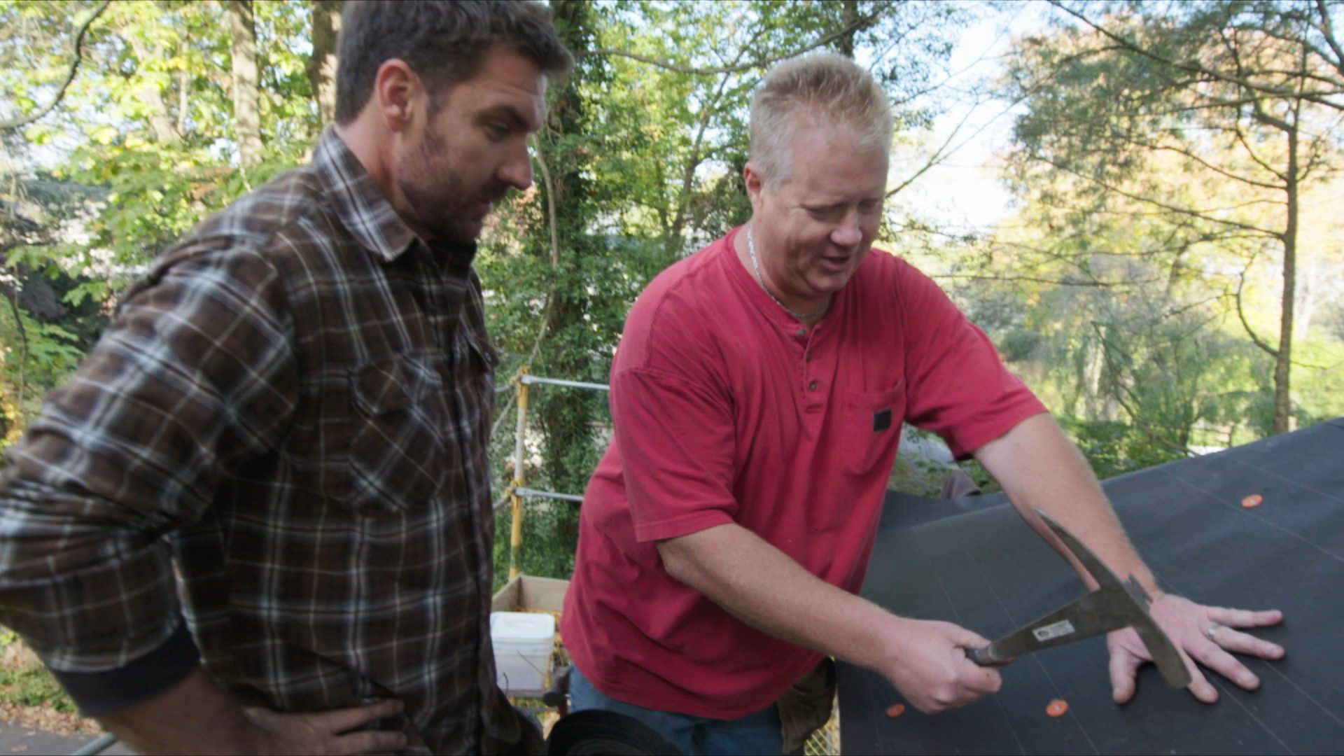 Made with Pride, DIY Network, Slate Roof from Scratch