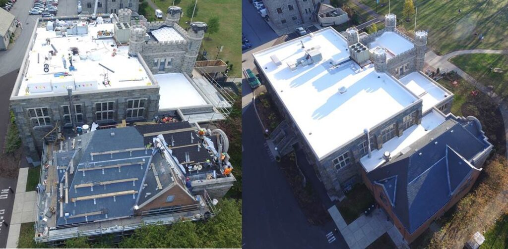 Bryn Mawr Roofing Project