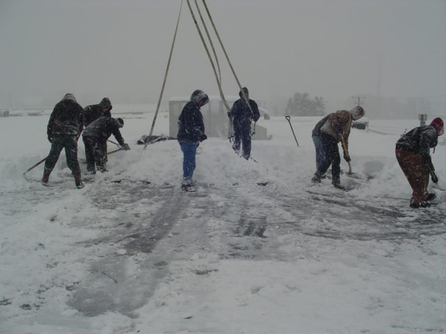 Why Professional Snow Removal Is A Must Gsm Roofing