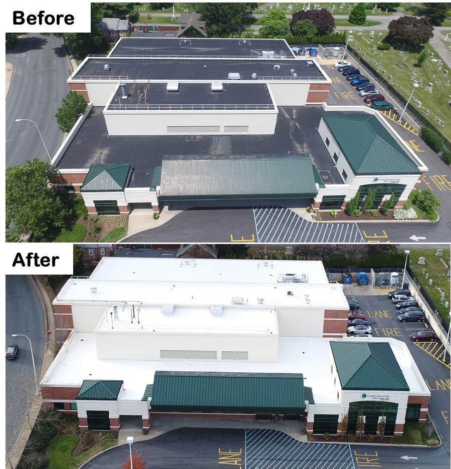 Coatings Roof Coatings Cool Roofs Gsm Roofing
