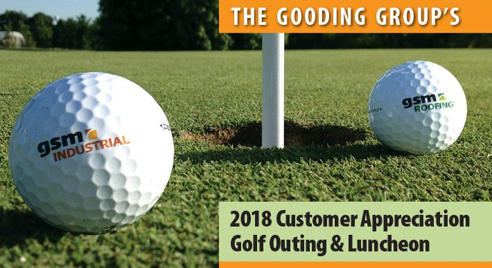 2018 GSM Golf Outing promotional graphic